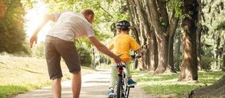 assurer son enfant qui a un velo