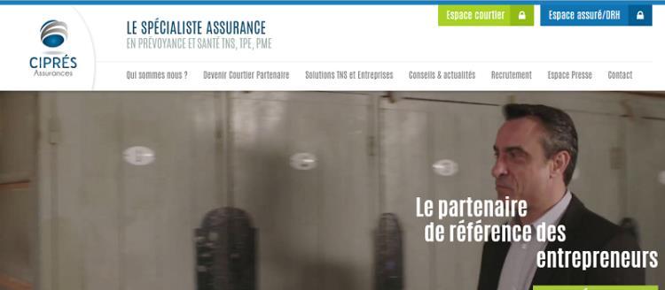site web Cipres assurances