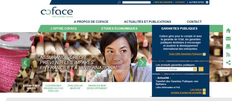 site web Coface