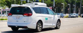 Voiture autonome Waymo vidéo 360°