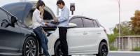 Allianz Waze accident trajet familier