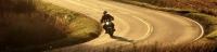 Accident d'une voiture avec une moto